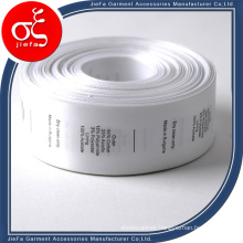 China Satin Face Care Label Printing Label