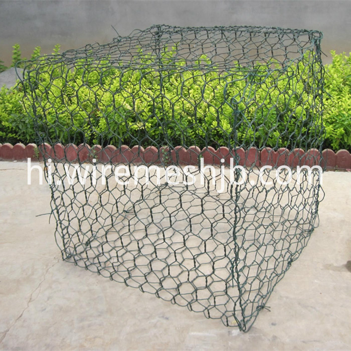 PVC Coated Hexagonal Gabion