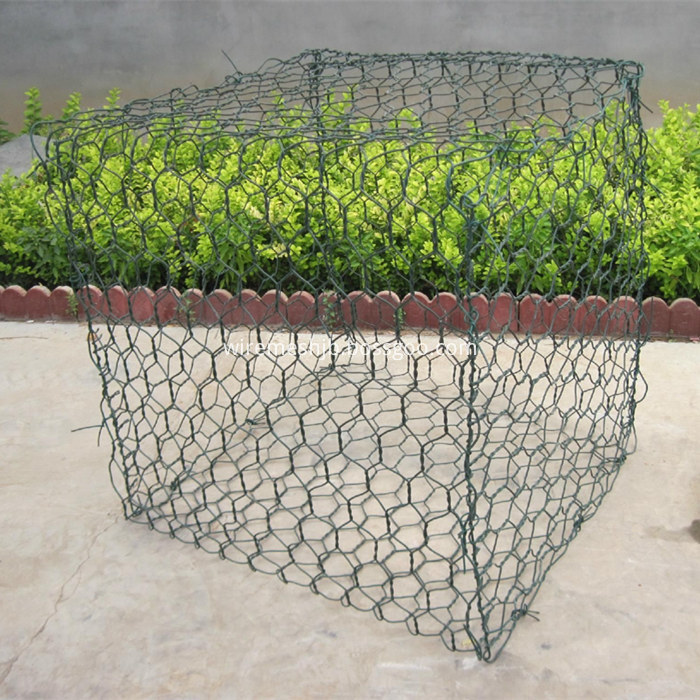 PVC Coated Hexagonal Gabion