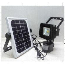 solar LED flood light motion sensor light
