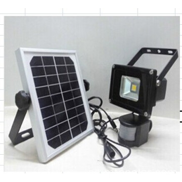 solar LED flood luz sensor de movimiento de luz