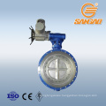steam water gas wcb cf3 cf8 c95800 dn250 gear lug butterfly valve api lug en butterfly valve