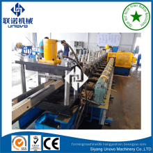 customize W shaped 2 waves guardrail rolling machine manufacturer