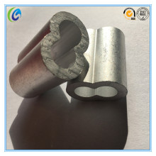 Us Type Hourglass Aluminium Wire Rope Sleeves
