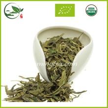 Nouveau thé vert sain organique de Long Jing de nouveau printemps