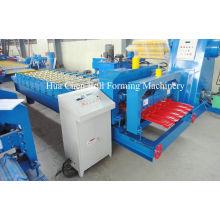 380v 50hz Trapezoidal Corrugated Sheet Making Machine With Plc Control