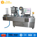 Factory price cup filling and sealing machine, rotary cup filling sealing machine