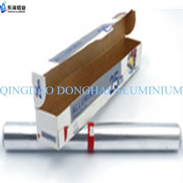 resistance heat Food Grade Aluminum Foil Small Roll