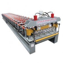 wall cladding trapeze metal forming steel sheet panel corrugated roof tile making machine