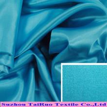 100 Polyester Satin pour doublure de vêtement en gros pas cher tissu de satin de polyester