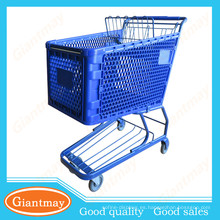 bella y útil desplegando carritos de compras de plástico