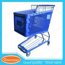 bonitos e úteis carrinhos de compras plásticos desdobrados