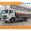 SINOTRUK 6X4 21000L aluminium oil tanker truck