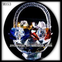 K9 Corbeille à fleurs en cristal