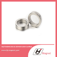 Strong N52 NdFeB Ring Permanent Magnet with High Quality