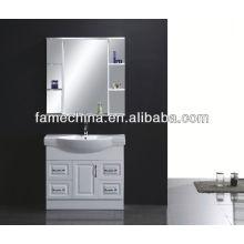 Nuevos muebles de baño MDF Espejo de pared de vidrio
