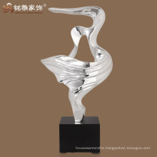 resin abstract seagull figurine factory supply abstract seagull figure