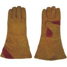 Golden Double Palm Heavy Duty Welding Work Glove-6521