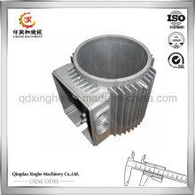 Custom Motor Shell Casting Gießerei Aluminium Sand Guss mit CNC Bearbeitungsdienstleistungen