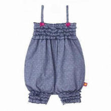Fashionable Baby Sleeveless Romper, Various Colors are Available, Soft and Comfortable