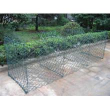 80X100mm PVC Coated Gabion Basket Mattress
