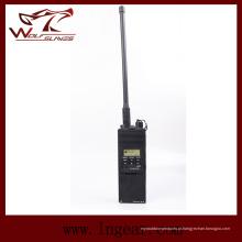 Interfones modelo tático não funcionais manequim Anprc-148 rádio