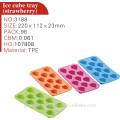 Strawberry shape ice cube tray/ fancy ice cube tray