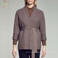 Women's Fashion Designed Cashmere Open Front Coat Plus Size