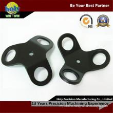 Electrical Custom CNC Aluminum Fastener Black Anodized Finish
