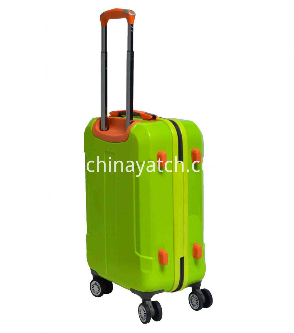 Vibrant Color PC Luggage Set