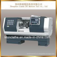Torno relativo à promoção do CNC da precisão do baixo preço para o metal fazendo à máquina