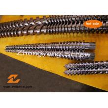 PVC-doppelte Schnecke und Zylinder