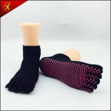 Нескользящей йога носок с логотипа