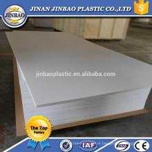 folha de PVC plástico flexível de material de construção