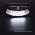 Lumière de sécurité solaire 8 LED IP65 imperméable à l'eau de capteur de mouvement extérieur imperméable à l'eau de mur de mouvement pour l'escalier d'étape, le patio, le jardin, le chemin, le porche