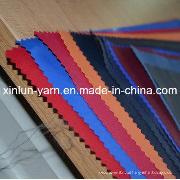 Tela de nylon revestida do PVC para o revestimento / barraca do vestuário do revestimento