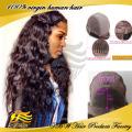 Peruca dianteira do laço do cabelo brasileiro longo ondulado frente perucas para mulheres sexy