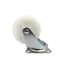 3 inch light duty flat plate swivel PP casters