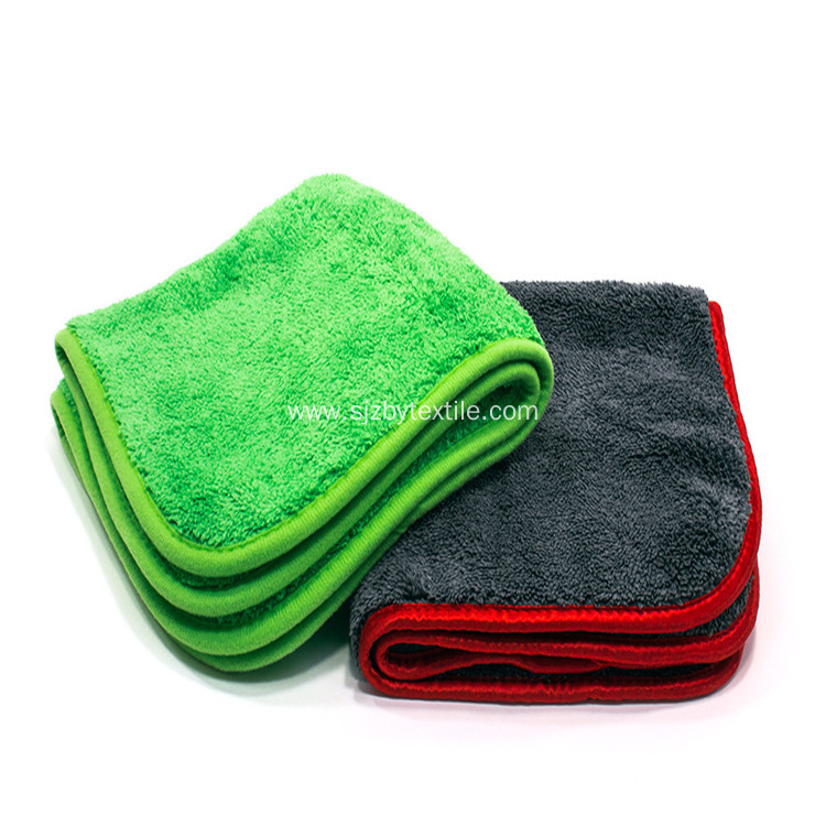 Wholesale Coral Fleece Microfiber Car Drying Towel Cloth