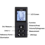 OEM Digital Laser Measurer100m With Angle Measuring Meter