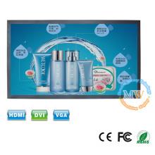 16: 9-Auflösung 1366X768 Wandmontage 32-Zoll-LCD-Monitor mit HDMI DVI VGA-Eingang