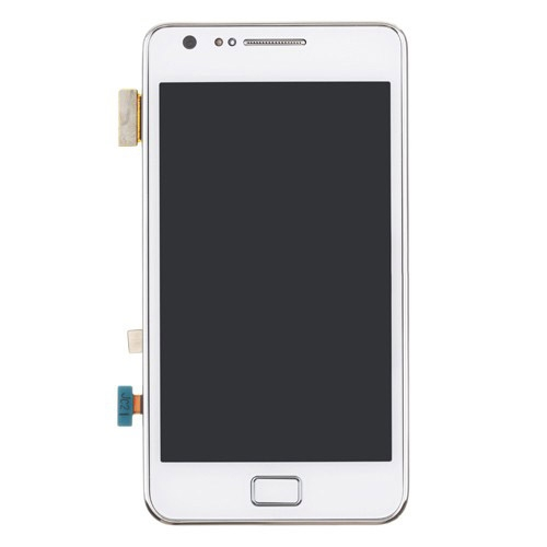i9100 screen with frame white