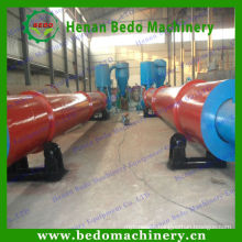 Environmental friendly screw conveyor Wood Sawdust Dryer / Rotary dryer