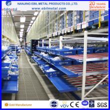 Ce / ISO - Certificat Q235 Steel Carton Flow Racking pour atelier