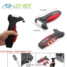 BT-4861 Torch Hammer Knife Multifunction LED Torch Flashlight