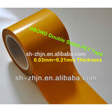 best price double sided clear PET tape with release liner in China