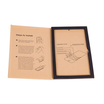 Paper Book Shape Gift Box for Screen Protector