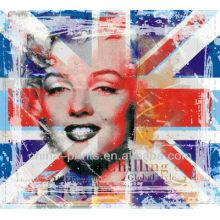 Impresiones famosas del arte pop de la lona de Marylin Monroe del comienzo del sexo