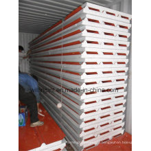 Color Coated Steel Sheet EPS Sandwich Panel Lowes Cheap Wall Paneling