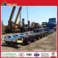 Ausrüstung Transport Abnehmbarer Schwanenhals Frontlader Tiefbett Hydraulische Semi Trailers